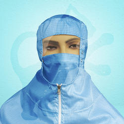 Open Face with Mask Design Cleanroom Hood