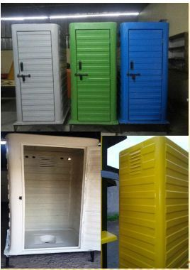 Fiber Toilets