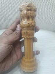 Wooden Ashok Stambh (Pillar)