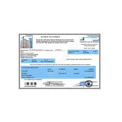 Fixed deposit receipt printing service manufacturer from mumbai thecheapjerseys Image collections