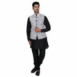 Wedding Kurta Pajama with Jacket