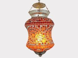 Colourful Mosaic Hanging Light