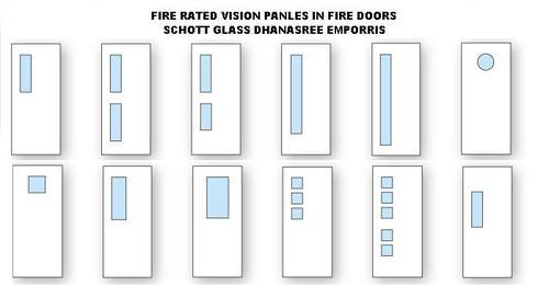 Fire Rated Vision Panels