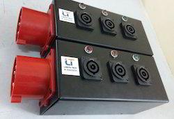 Power Board With Powercon Sockets