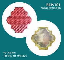 Taurus Moonstone Capsule Design - PVC Paver Moulds
