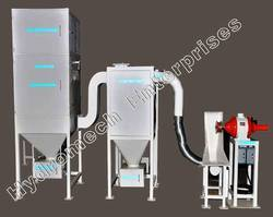 Spark Trap Dust Collection Systems for Buffing Machines