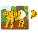 Tiger Wooden Jigsaw Puzzle