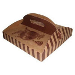 Carriable Pizza Box
