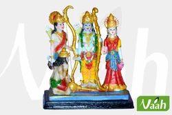 Vaah Resin Colorful Ram Darbar Statue