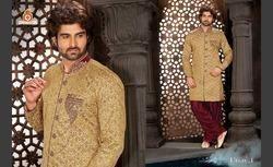 Designer Heavy Sherwani with Indowestern Patiala