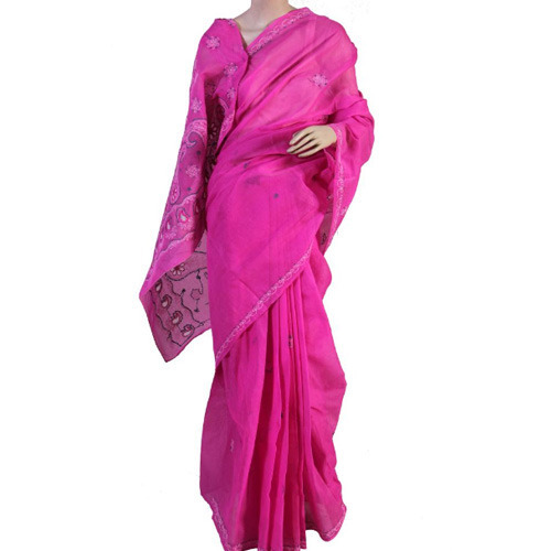 Embroidery Pattern Saree