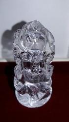 Natural Crystal Ganesh Idol