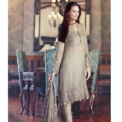 Designer Georgette Dress Material
