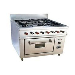 Four Burner Gas Oven