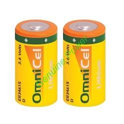 Omnicel ER34615HD 3.6v D Size Battery