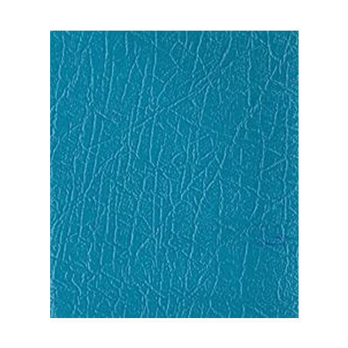 Blue Embossed Leather