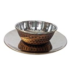 Smokey Finished Finger Bowl W Underliner