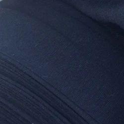Knit Indigo Denim Spandex Rib Fabric