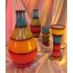 Colored Flower Vase