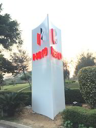 ACP Totem Pole Acrylic Letter