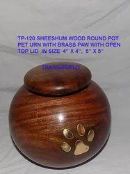 Wooden Pet Urn  Tp-120