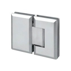 Glass To Glass 180 Degree Bevelled Shower Hinges