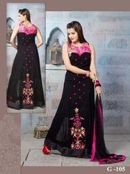 Designer Heavy Embroidery Gown