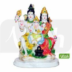Polyresin Shiv Parivar Statue