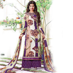 Cotton Designer Unstitched Suit