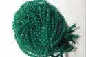 Green Onyx Cutting Round Balls Beads
