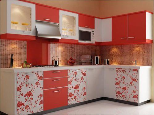 Kitchen Design Normal modular kitchen designing services - stylish modular kitchen