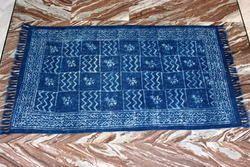 Indigo Blue Cotton Durrie