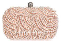 Zari Handmade Beaded Clutch Purse