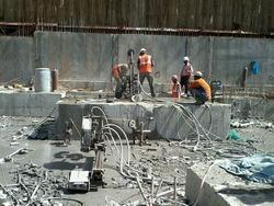 Foundation Cutting Work
