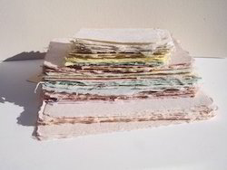 Handmade Deckle Edged Cotton Rag Drawing Papers