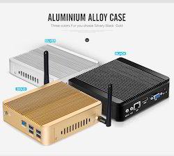 Aluminum Case Fanless I7 4500u Dual-core Mini Pc