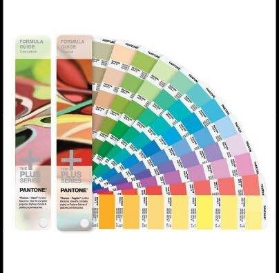 Pantone Color Books Pantone Formula Guide Solid Coated And Solid