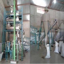 Sesame Hulling Plant