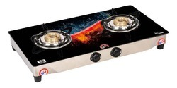 Double Burner Glass Top Stoves