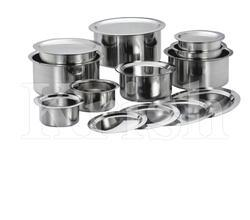 Indian Cooking Pan Sets - 5/8/12 Pcs Sets
