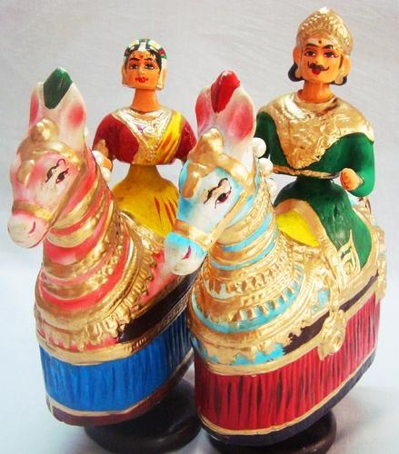 Dolls Horse Dancing Doll Manufacturer From Thanjavur