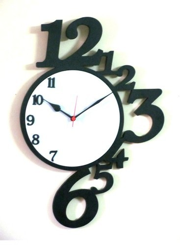 Designer Wall Clock View Specification Details by Abracadabra