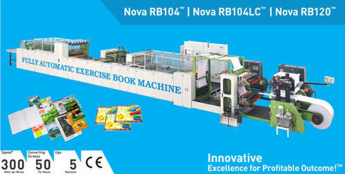 Fully Automatic Exercise Book Machine - Nova RB