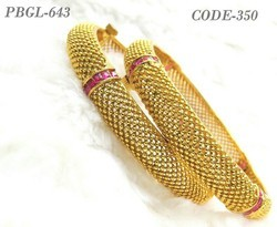 New Designer Gold Antique Bangles