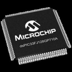 DSPIC33FJ128GP710A-I/PF Microcontroller