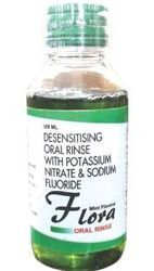 Potassium Nitrate And Sodium Floride Mouth Wash