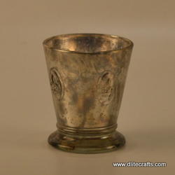 Silver Candle Votive Holder