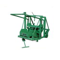 Global 430-G Diesel Manual Concrete Block Making Machine