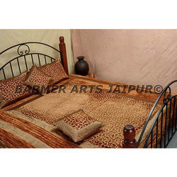 Brasso Velvet Border Bed Cover