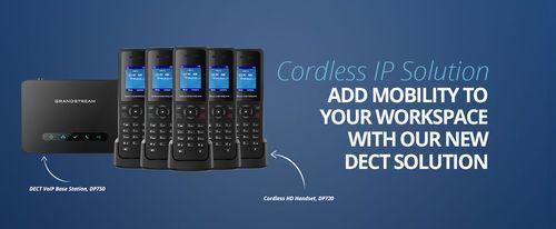 Grandstream DP750 DECT Cordless IP Phone